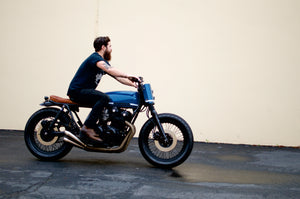 CB750 Street Tracker Build