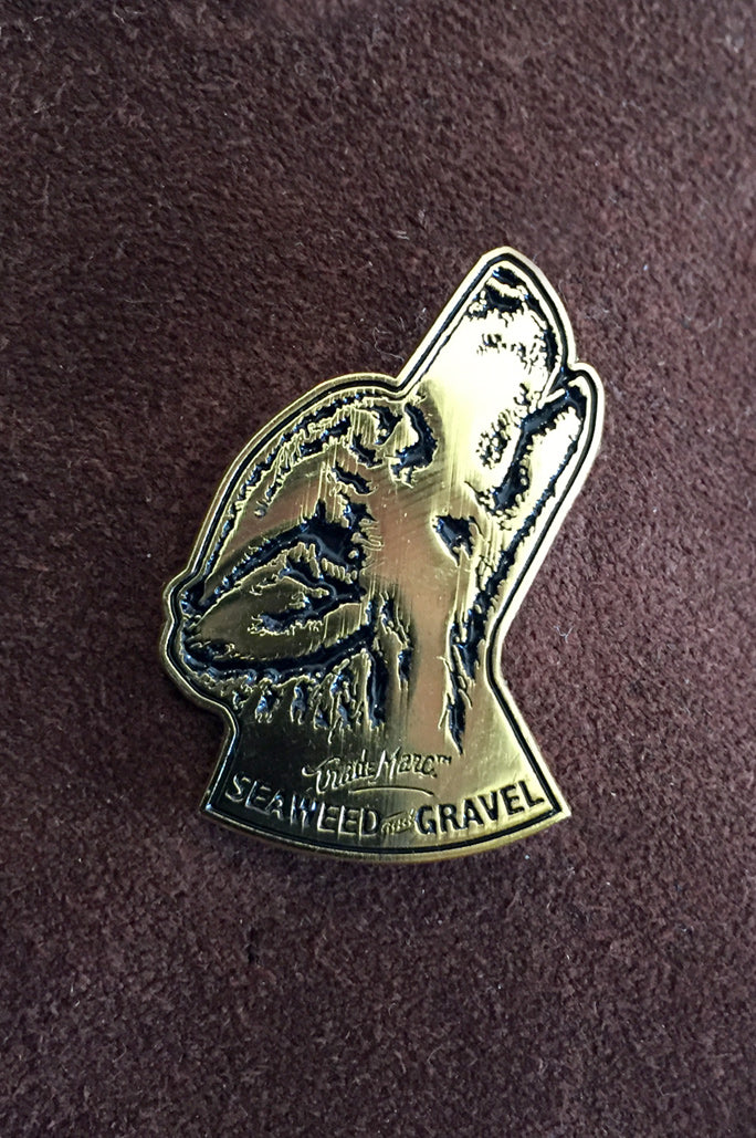 "Pin ""Wolf Howl"" from Seaweed & Gravel"