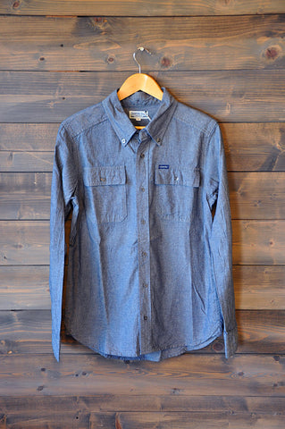 Crawford Chambray L/S Button Down