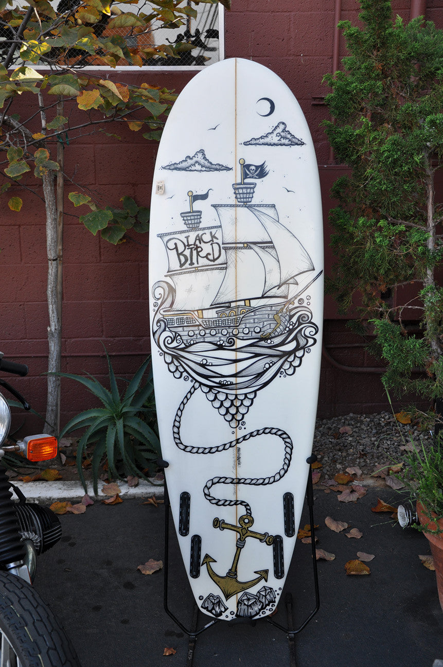 "Surfboard Blackbird ""Owl"" 5'8"""