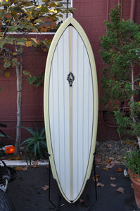 "Surfboard Barry Snyder 6'0"" Single Fin"