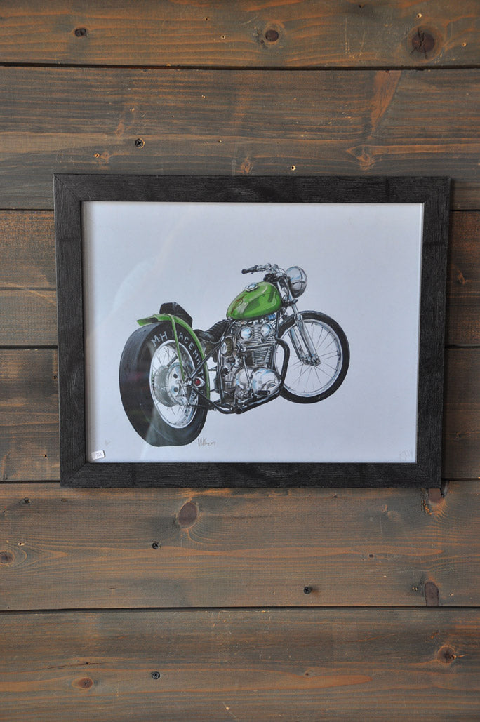 "Wall Decor ""Bobber"" Art Print"