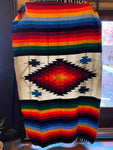 Mexican Blanket Antique Natural