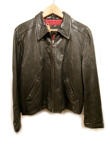 "Girls Vintage Jacket ""Kenneth Cole"" Leather Black size L"