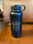 "Bottle ""Seaweed and Gravel"" Double Insulated Water Bottle"