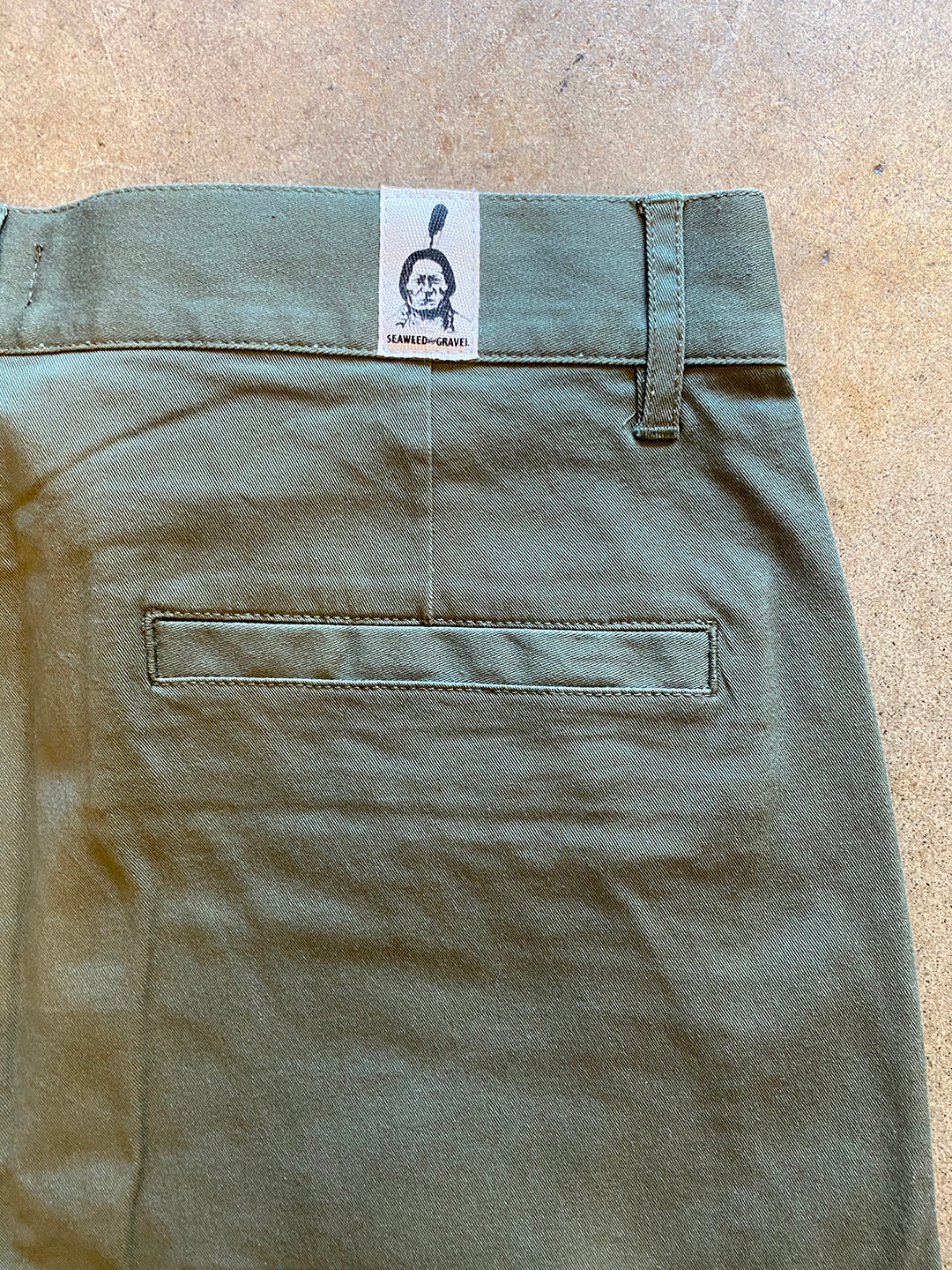 Shorts by S&G Army Green
