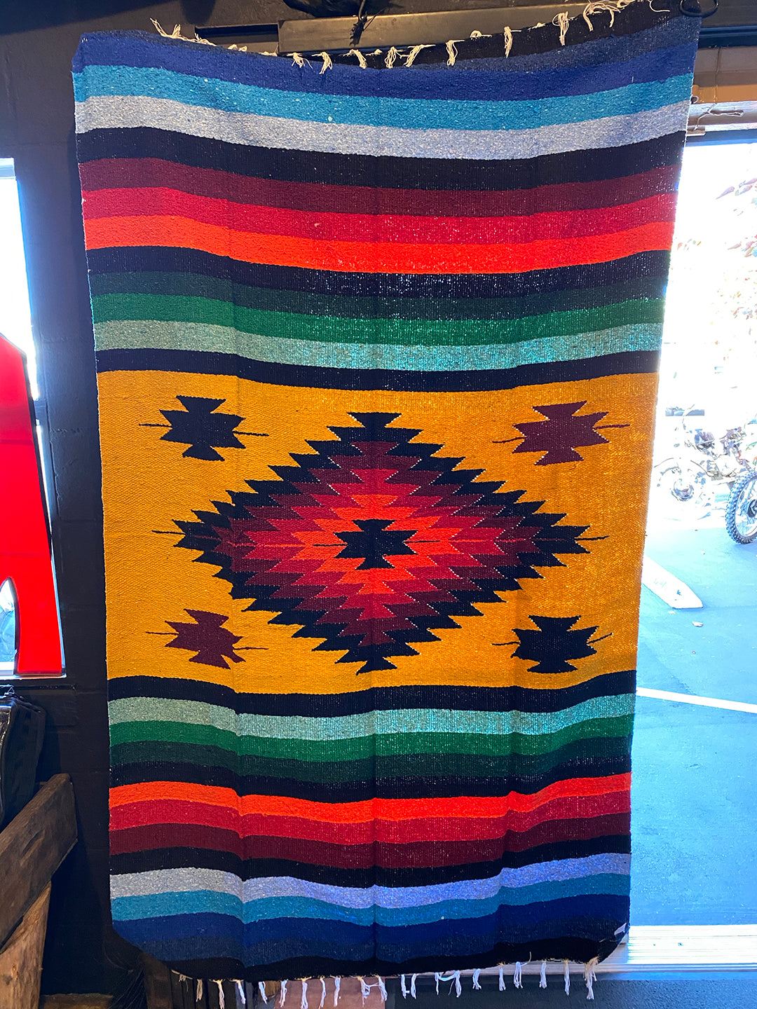 Mexican Blanket Gold