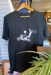 "Tee ""Freedom Riders"" Washed Black"
