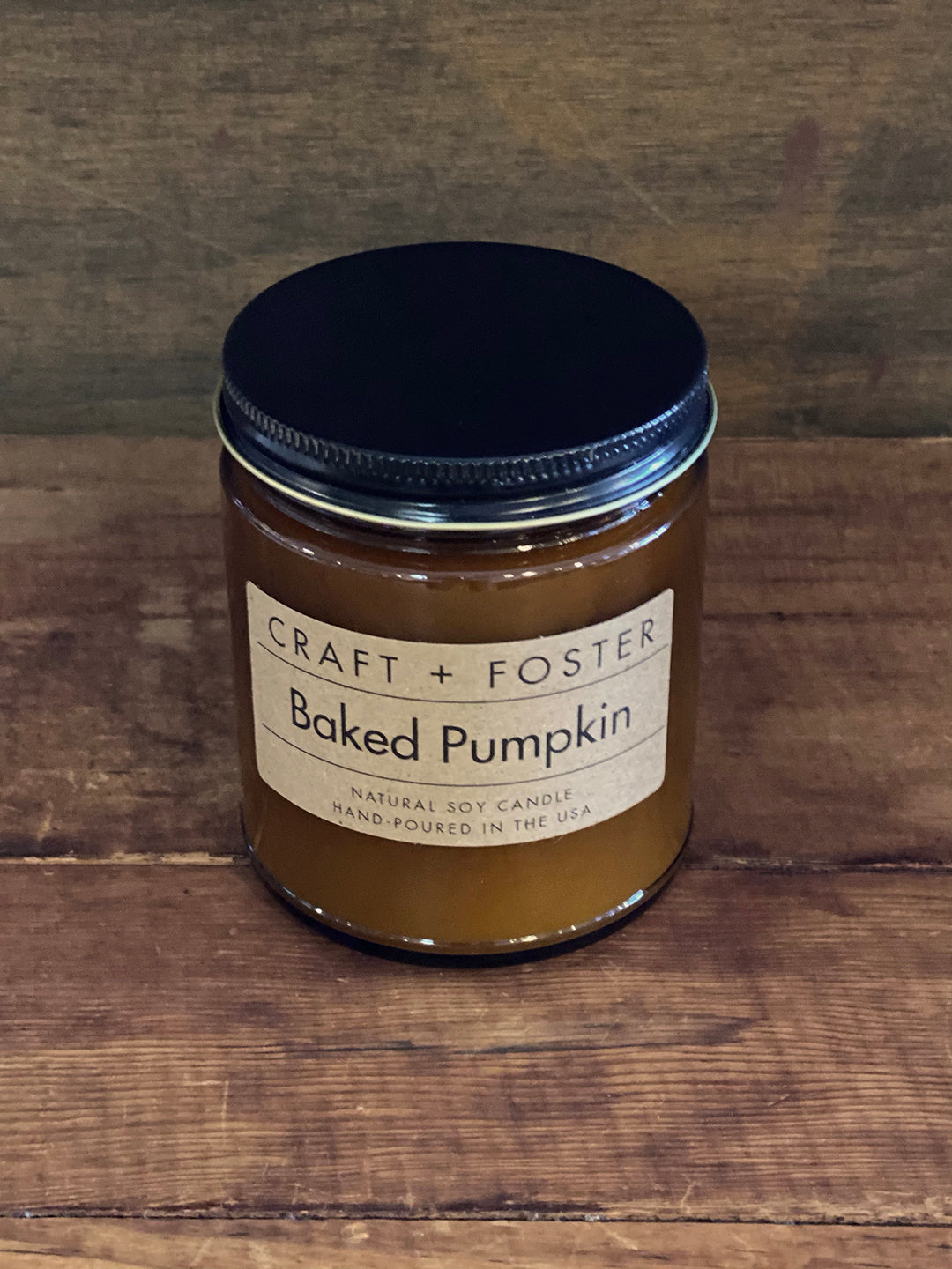 "Candle ""Baked Pumpkin"" by Craft + Foster"