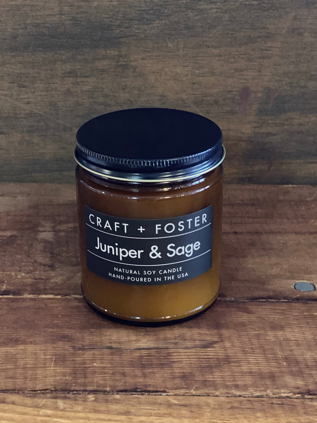 "Candle ""Juniper and Sage"" by Craft + Foster"