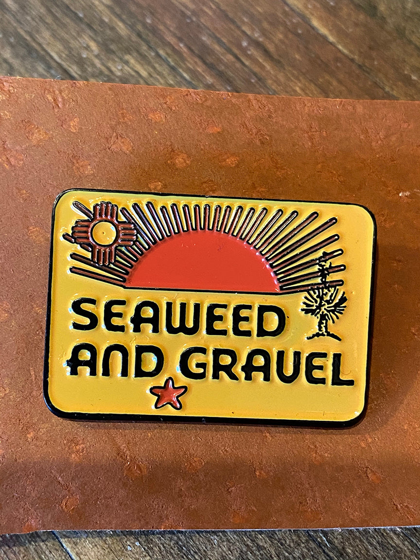 "Pin ""La Cruces"" from Seaweed & Gravel"