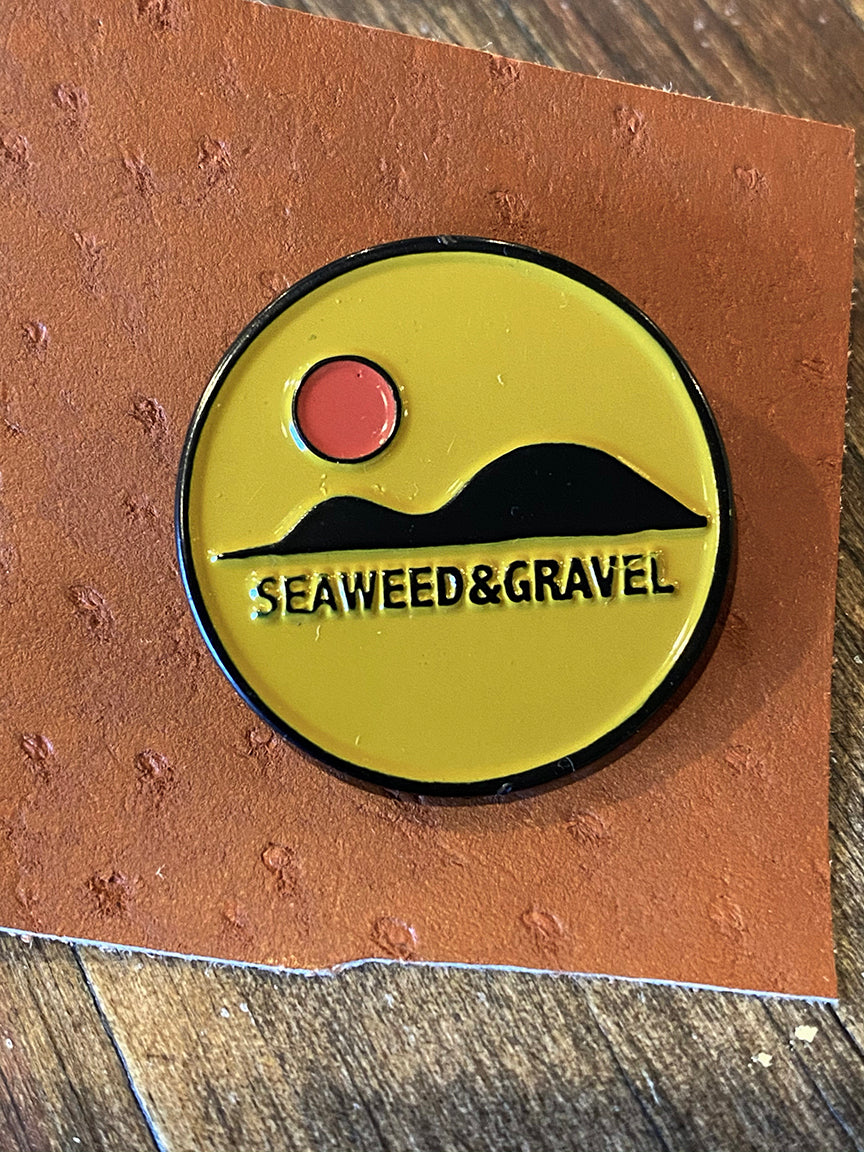 "Pin ""Hills"" from Seaweed & Gravel"