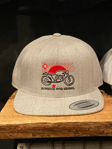 "Cap ""Las Cruces"" Wool SnapBack Hat Light Khaki"