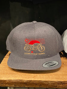 "Cap ""Las Cruces"" Wool SnapBack Hat Dark Khaki"