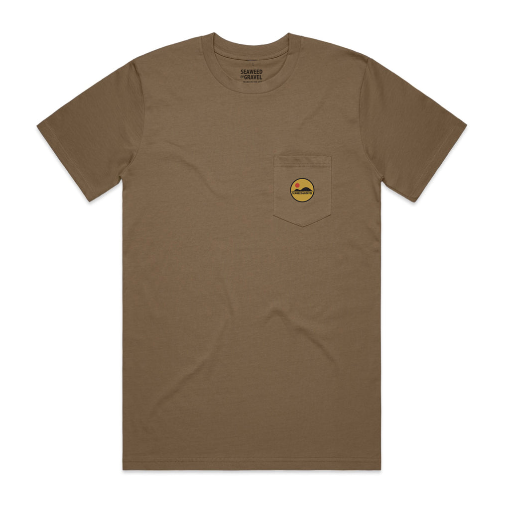 "Tee ""Hills Patch"" Pocket Coffee S/S"