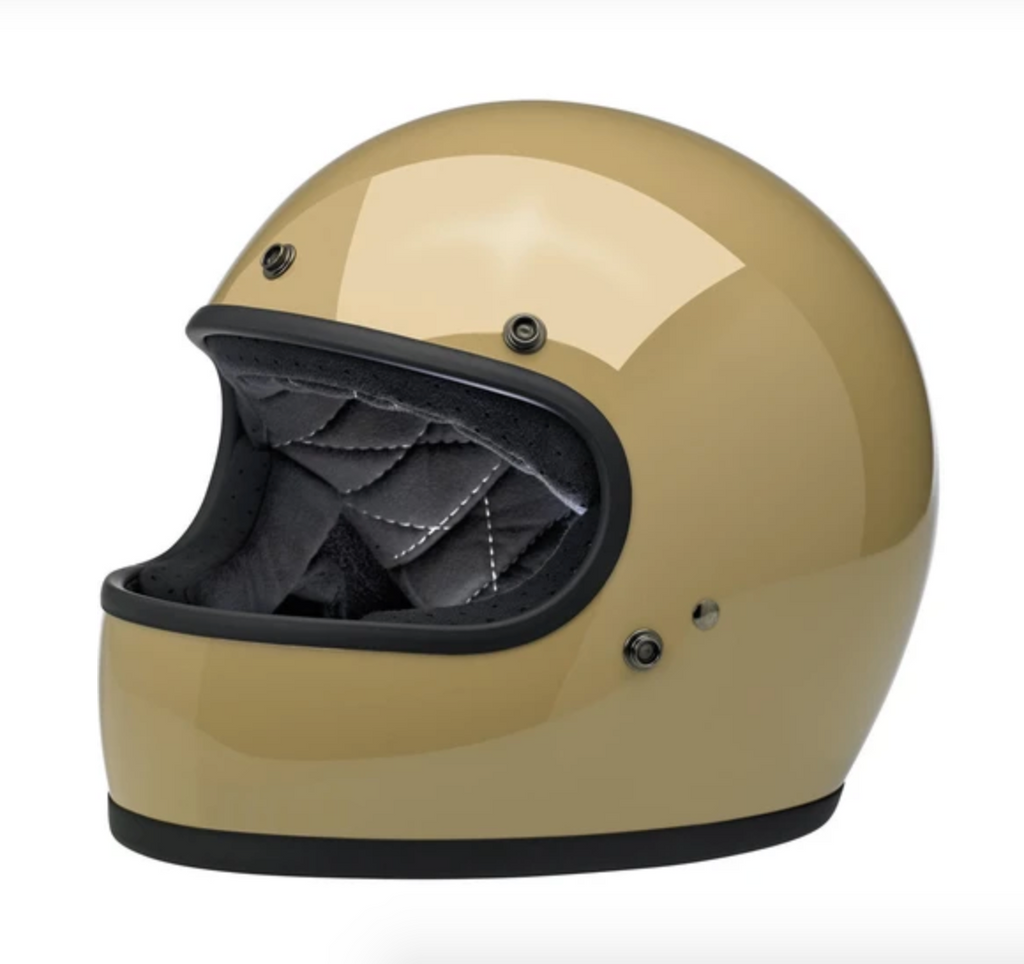 Helmet Full Face Biltwell Gloss Coyote Tan New