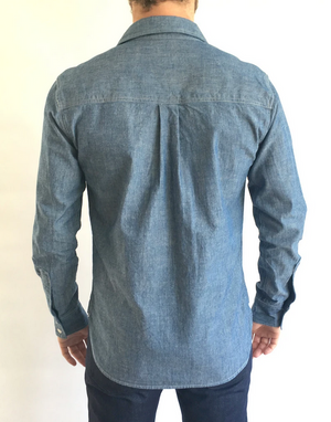 Crawford Denim Chambray Button Down Shirt