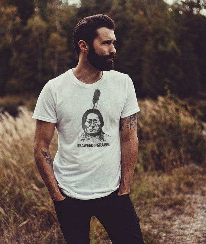 "Tee ""Sitting Bull"" Shop White"