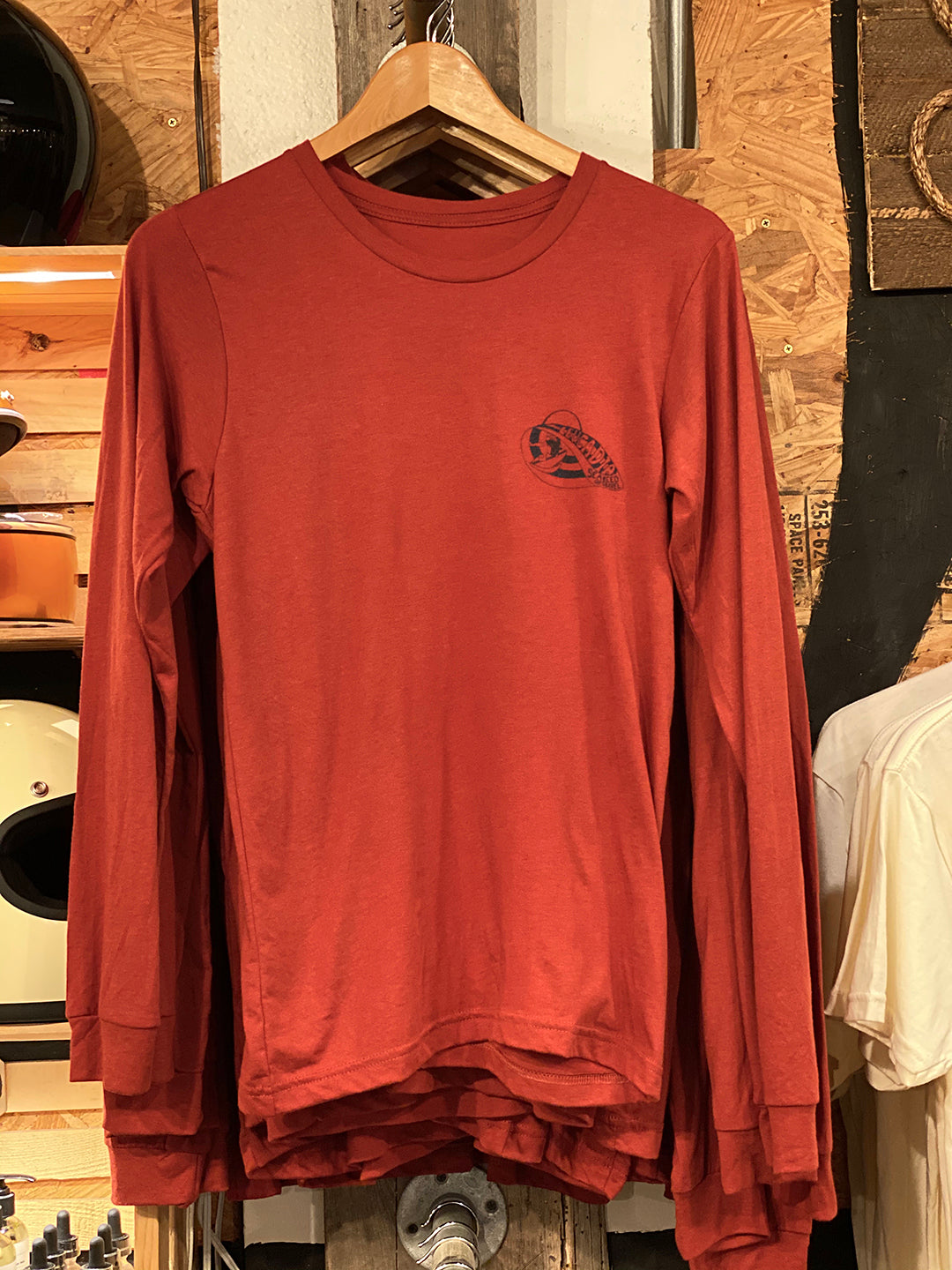 "Tee ""WAVE Leucadia"" L/S Clay"