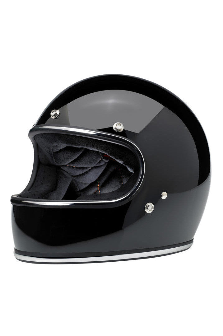 Helmet Full Face Biltwell Gloss Black New