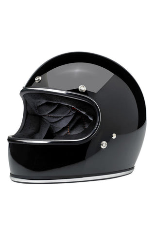 Helmet Gringo Full Face Biltwell Gloss Black New