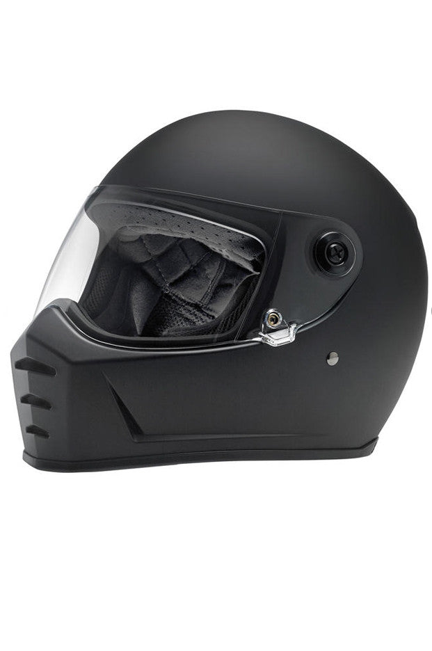 "Helmet ""Lane Splitter"" Full Face Biltwell Flat Black New"