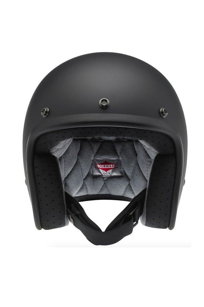 Helmet Bonanza Open Face Biltwell Flat Black New