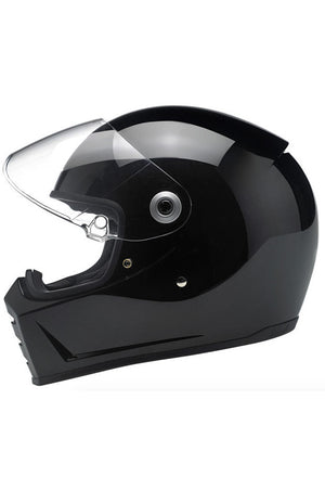 "Helmet ""Lane Splitter"" Full Face Biltwell Gloss Black New"