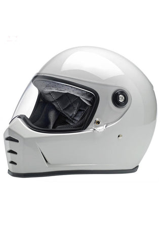 "Helmet ""Lane Splitter"" Full Face Biltwell White New"
