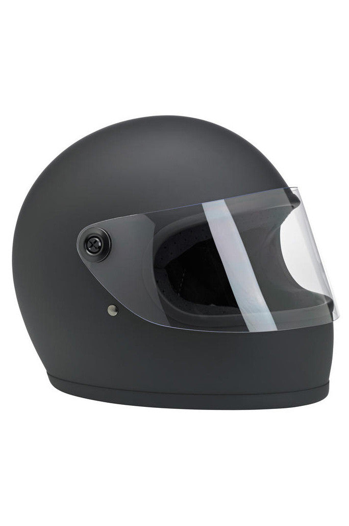 Helmet S Full Face Biltwell Flat Black New