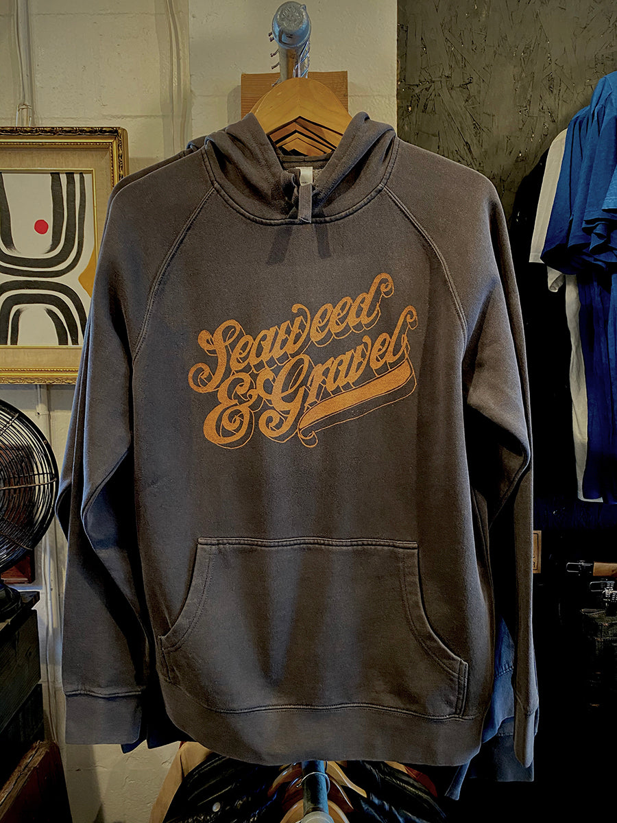 "Hooded Sweatshirt ""Saloon"" Black"