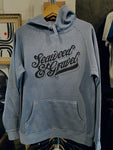 "Hooded Sweatshirt ""Saloon"" Blue"