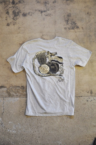 Tee Motor Heather Grey
