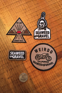 Patches Seaweed and Gravel