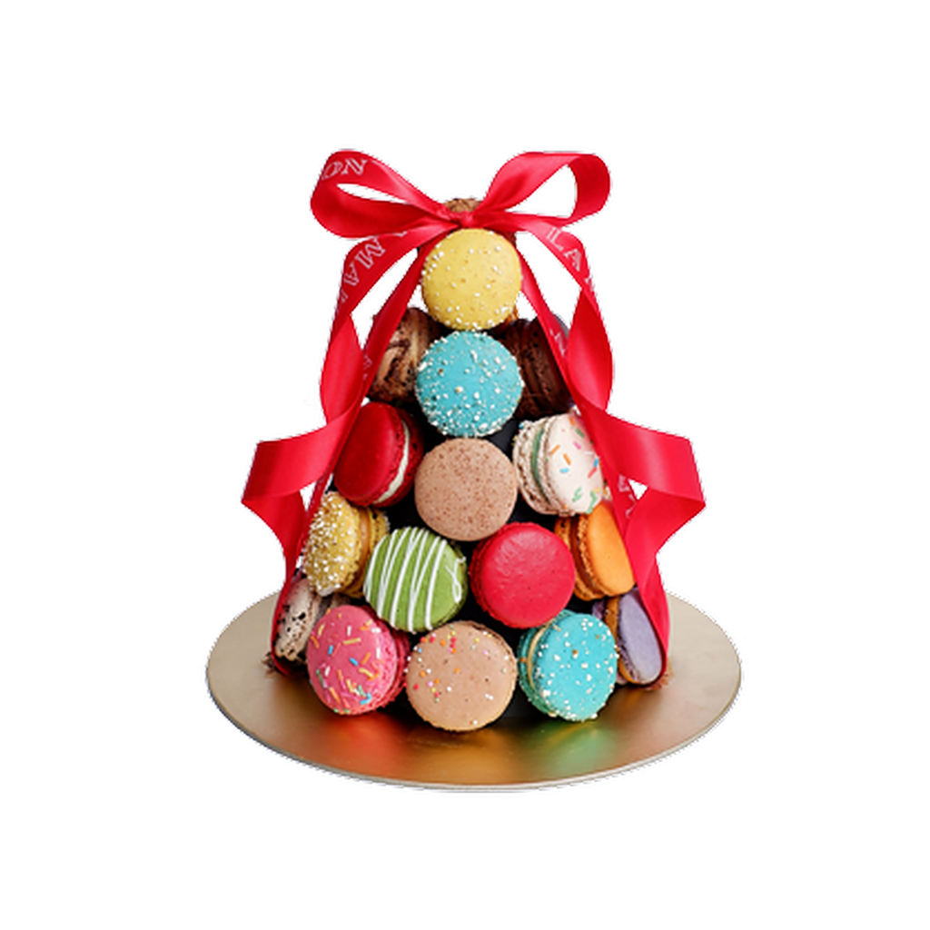 Macarons Tower 30 pcs