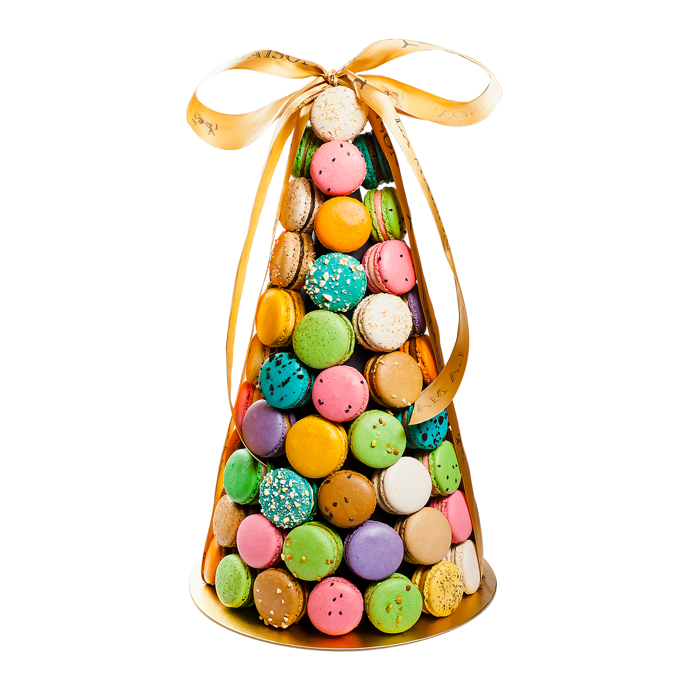 Macarons Tower 80 pcs