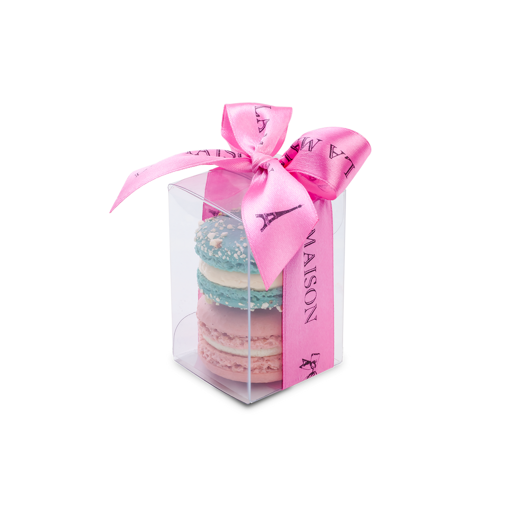 2 Pcs Macarons By Box