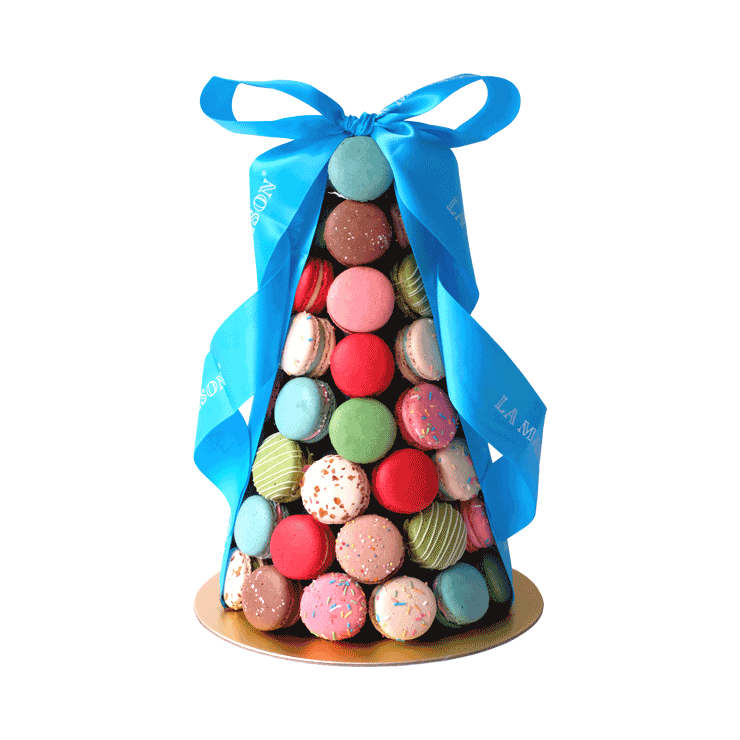 Macarons Tower 60 pcs