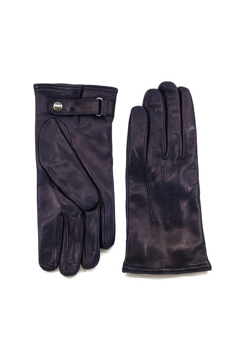 Cashmere lined Button Gloves