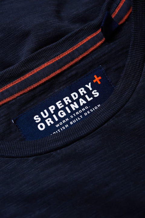 Superdry Mens Dry Originals Short Sleeve Pocket T-Shirt dry storm navy