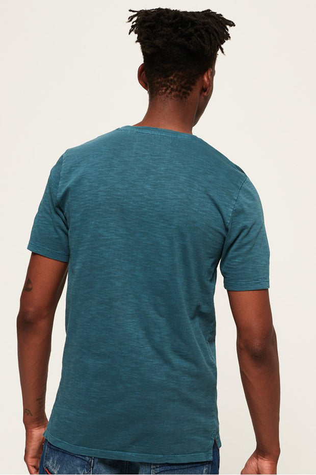 Superdry Mens Dry Originals Short Sleeve Pocket T-Shirt dry trucker teal
