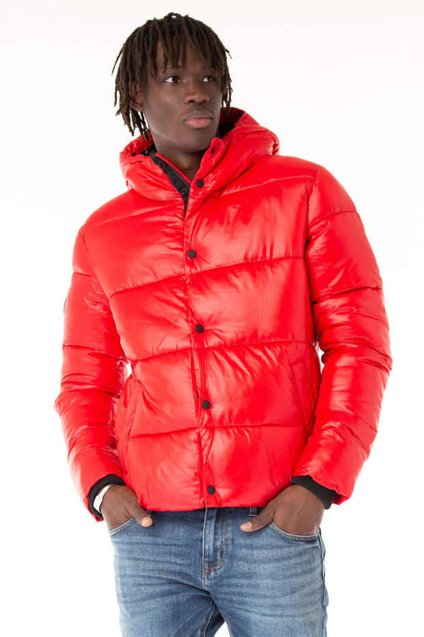 HIGH SHINE PADDED JACKET