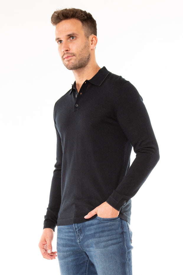 Edit Merino L/S Polo