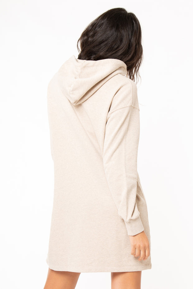 Zip Front Sweat Dress