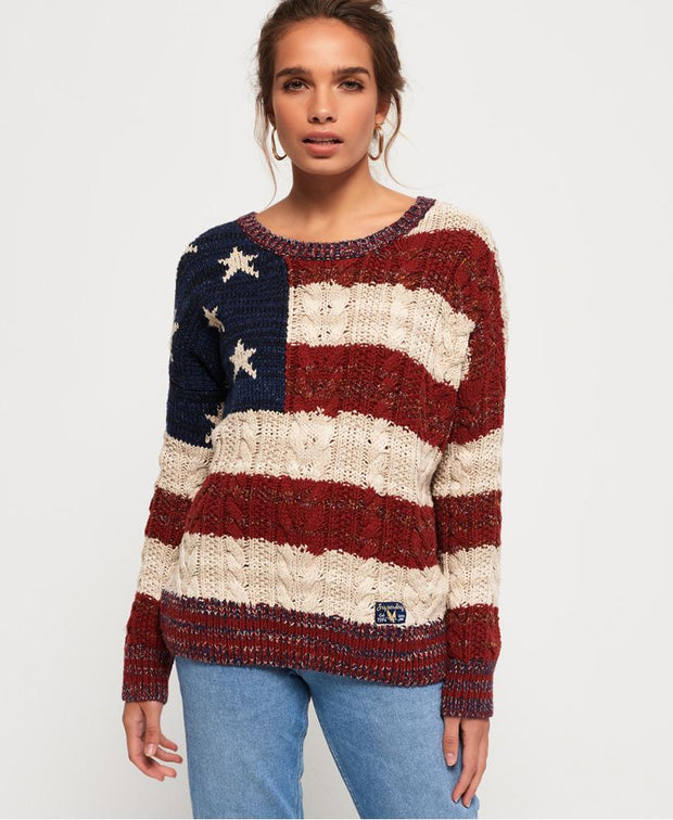 Americana Cable Knit Womens