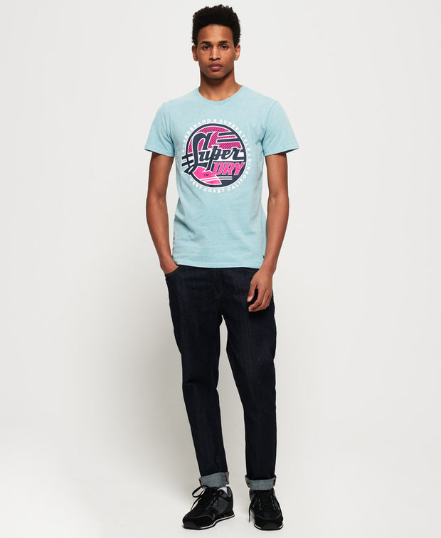 Acid Graphics Mid Weight Tee Mens