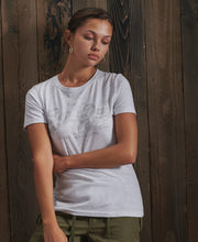 Vl Tonal Satin Tee Womens