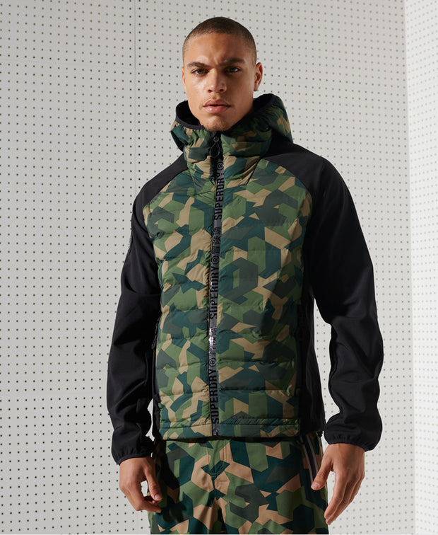 Motion Radar Hooded Hybrid Mens