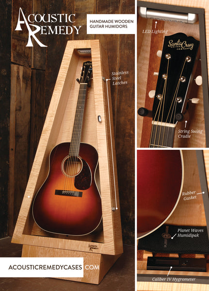 acoustic remedy cases wooden guitar case humidity controlled acoustic remedy cases. Black Bedroom Furniture Sets. Home Design Ideas