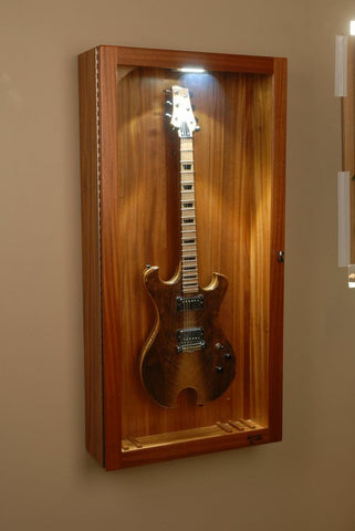 Guitar Display Cabinet Plans Homedesignview Co